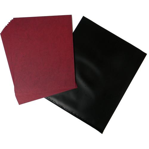 "Cyanotype Store Cyanotype Paper (8 x 10"", 48-Sheets, Cherry Red)"