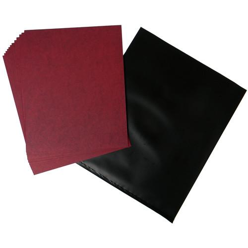 "Cyanotype Store Cyanotype Paper (8 x 10"", 100-Sheets, Cherry Red)"