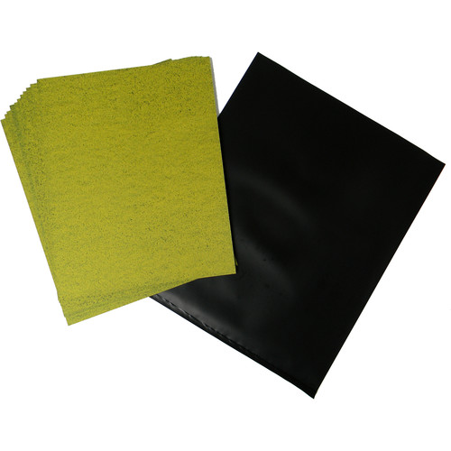 "Cyanotype Store Cyanotype Paper (8 x 10"", Lemon Yellow, 12 Sheets)"