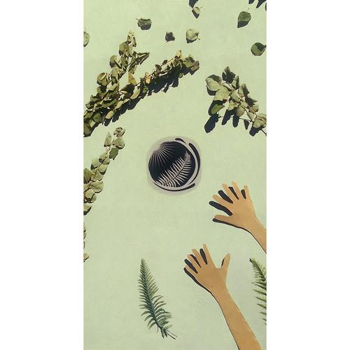 Cyanotype Store Cotton Mural (6 x 8', White)