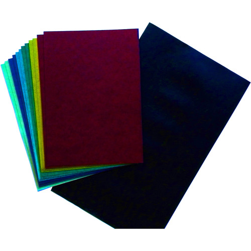 """Cyanotype Store Cyanotype Paper (5 x 7"""", Mixed Color, 12 Sheets)"""