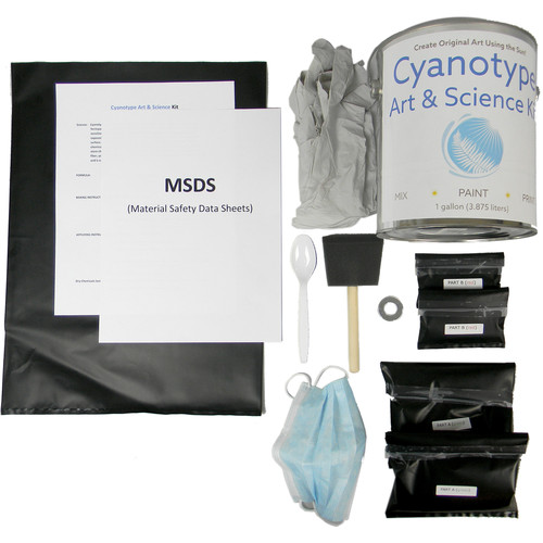 Cyanotype Store Cyanotype Art & Science Print Kit (1 gal)