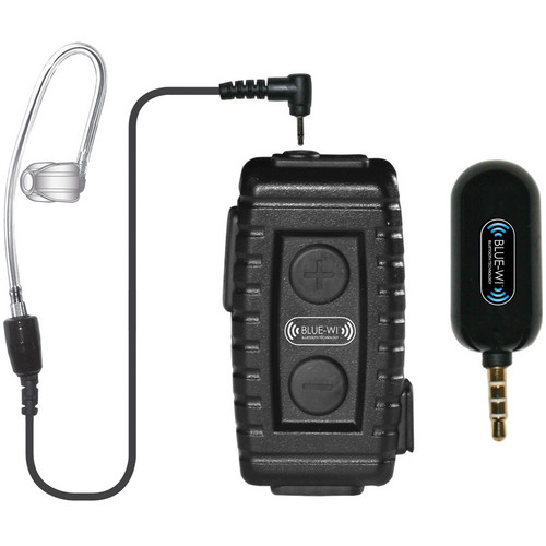 BLUE-WI Nighthawk Mobile Bluetooth Lapel Mic with Bullet Speaker