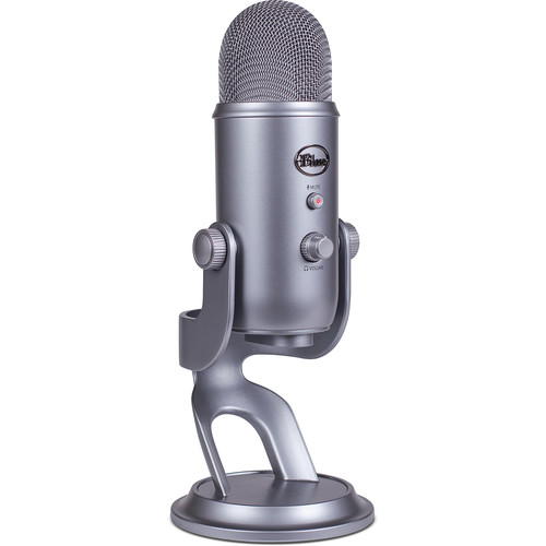 Blue Yeti USB Microphone (Cool Gray)