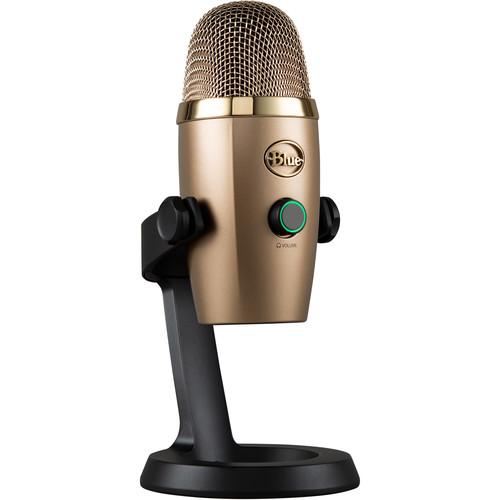 Blue Yeti Nano Multi-Pattern USB Condenser Microphone (Cubano Gold)