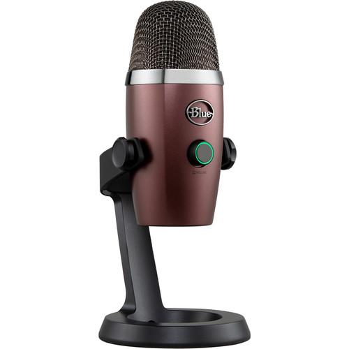 Blue Yeti Nano Multi-Pattern USB Condenser Microphone (Red Onyx)