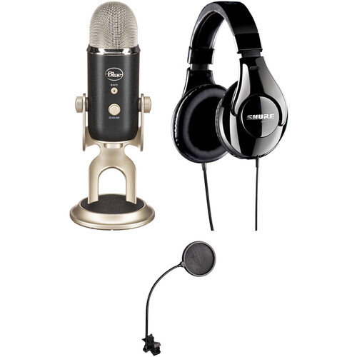 Blue Yeti Pro Microphone Value Kit