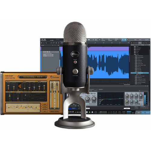 Blue Yeti Pro Studio All-In-One Pro Studio Vocal System