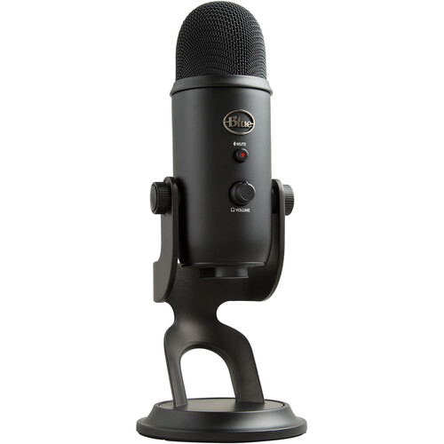 Blue Yeti USB Mic Kit with Windscreen and Reflection Filter (Blackout)