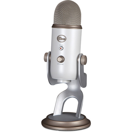 Blue Yeti USB Microphone (White Gold)