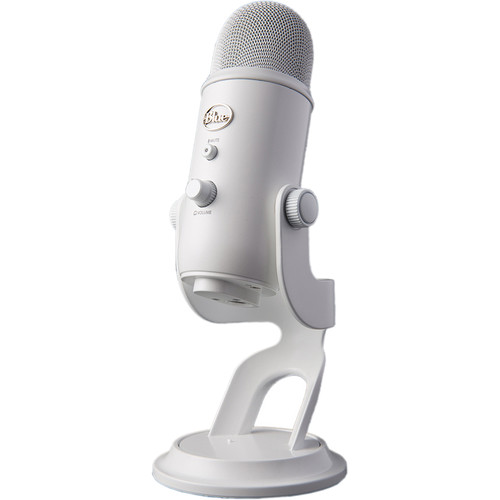 Blue Yeti USB Microphone (Whiteout)
