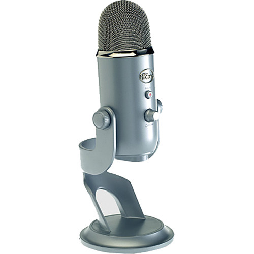 Blue Yeti USB Microphone (Platinum)