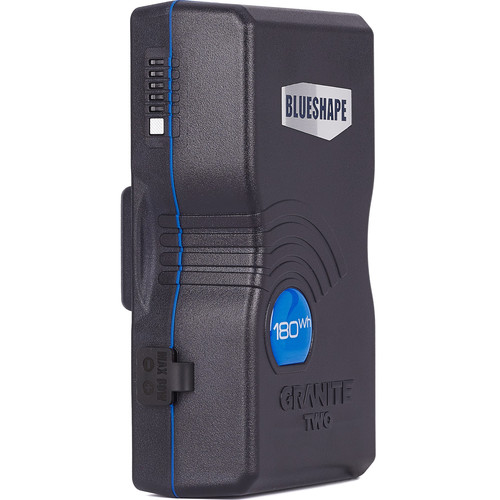 BLUESHAPE GRANITE TWO High Rate Discharge 180Wh Gold Mount Battery