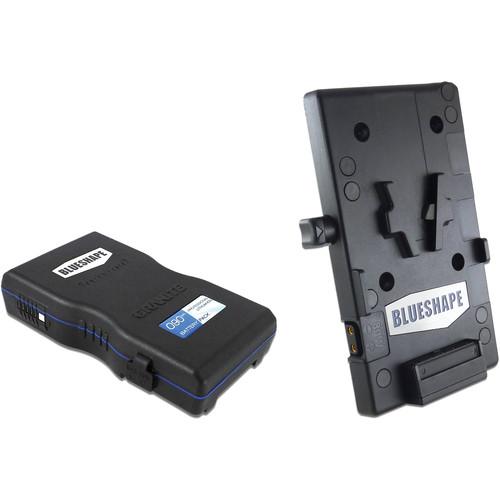 BLUESHAPE GRANITE 90Wh V-Mount Battery & Plate Kit for Blackmagic URSA