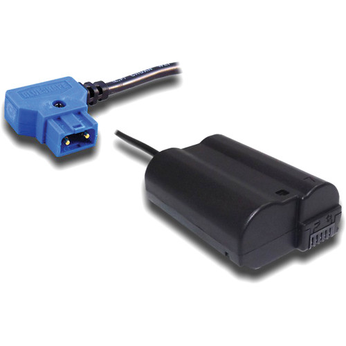 BLUESHAPE Proprietary B-Tap Power Adapter for Connecting BUBBLEPACK to Nikon D800 & D7000