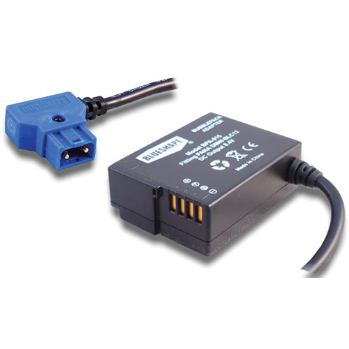 BLUESHAPE Proprietary B-Tap Power Adapter for Connecting BUBBLEPACK to Panasonic GH2