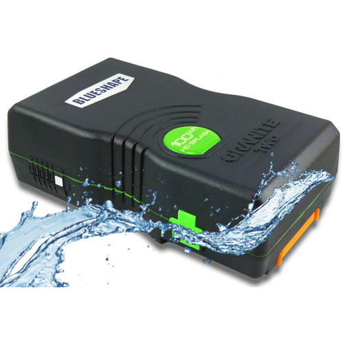 BLUESHAPE BV100HD SPLASH GRANITE TWO 14.8V Water Resistant V-Mount Battery (94Wh, 6.2Ah)