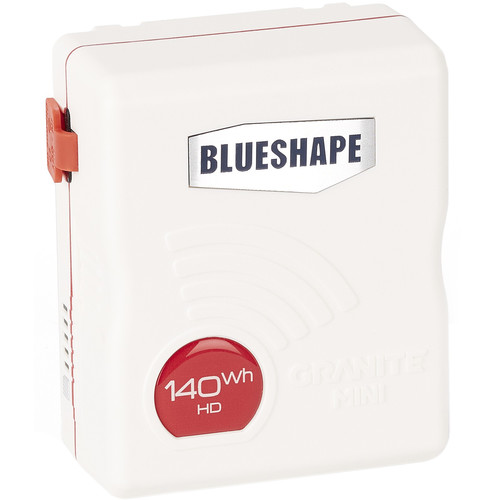 BLUESHAPE GRANITE MINI 14.4V 140Wh V-Mount Li-Ion Battery (White)