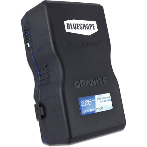 BLUESHAPE BV225 GRANITE 14.8V V-Mount Lithium-Ion Battery (225Wh, 15.0Ah)