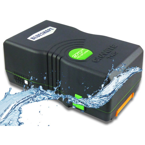 BLUESHAPE BV270HD SPLASH GRANITE TWO 14.8V Water Resistant V-Mount Battery (266Wh, 18Ah)