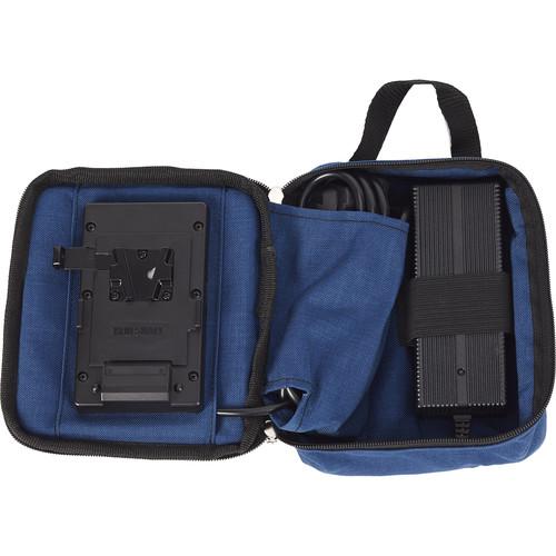 BLUESHAPE 6A Single V-Mount Battery Charger in Travel Case