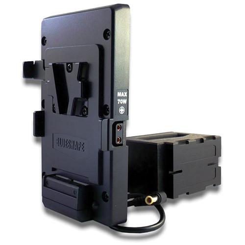 BLUESHAPE V-Mount Adapter Plate for Sony EX1 & EX1R