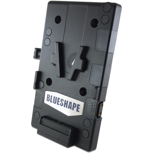 BLUESHAPE Waterproof Universal Metal V-Plate without D-Tap Output
