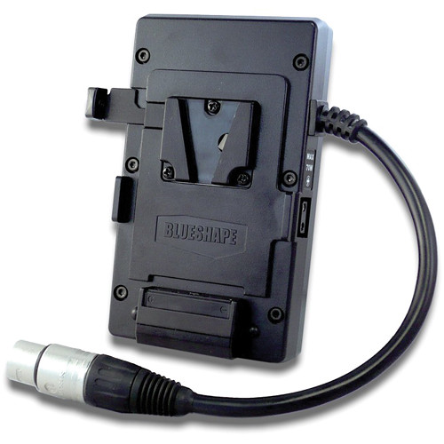 BLUESHAPE MVBELTS Belt-Clip V-Mount Plate with Nominal Output