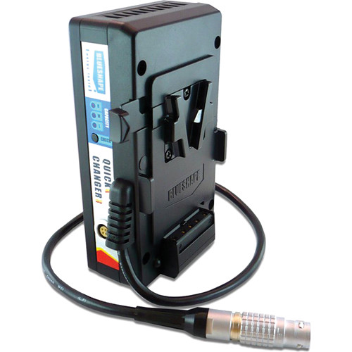 BLUESHAPE V-Mount Battery Hot Swap Adapter for RED ONE