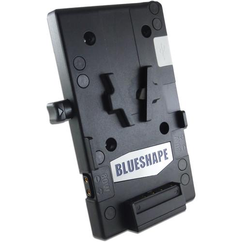 BLUESHAPE MVUSB USB Multi-Power V-Mount Battery Plate