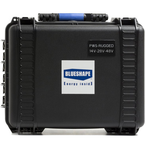 BLUESHAPE Field Gold Mount Battery Power Station with Impact-Resistant Case