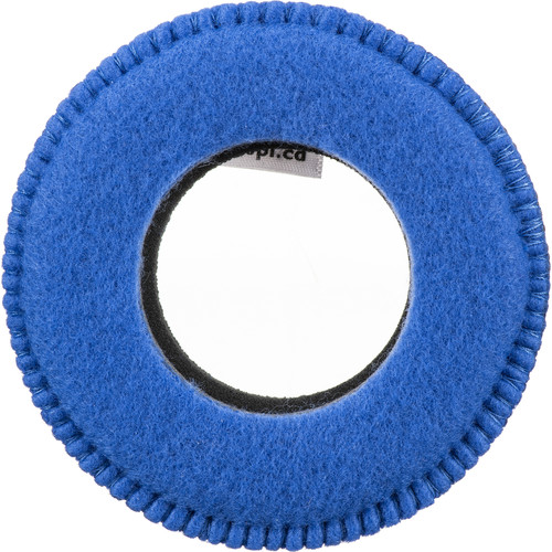 Bluestar Round Ultra Small Viewfinder Eyecushion (Fleece, Blue)