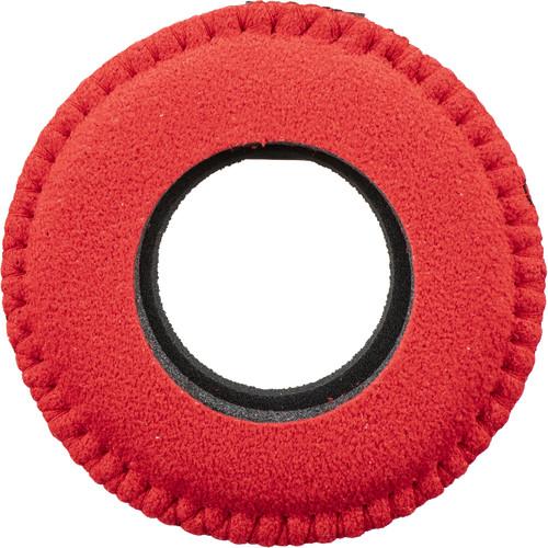 Bluestar Round Ultra Small Viewfinder Eyecushion (Ultrasuede, Red)
