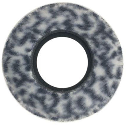 Bluestar Viewfinder Eyecushion -  Round, Small, Fleece (Snow Leopard)