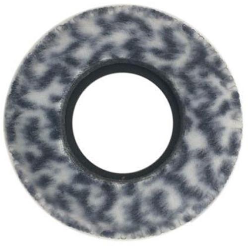 Bluestar Viewfinder Eyecushion -  Round, Small, Fleece (Snow Leopard)