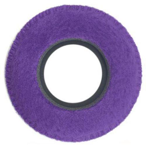 Bluestar Viewfinder Eyecushion -  Round, Small, Fleece (Purple)