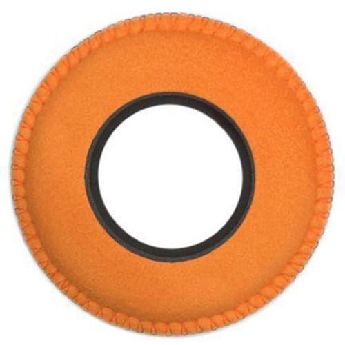 Bluestar Viewfinder Eyecushion -  Round, Small, Ultrasuede (Orange)