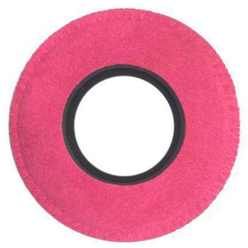 Bluestar Viewfinder Eyecushion -  Round, Small, Ultrasuede (Pink)