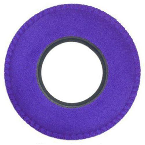 Bluestar Viewfinder Eyecushion -  Round, Small, Ultrasuede (Purple)