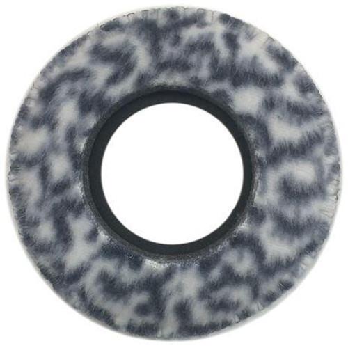 Bluestar Viewfinder Eyecushion - Round, Large, Fleece (Snow Leopard)