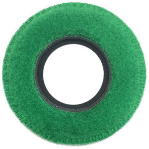 Bluestar Viewfinder Eyecushion - Round, Large, Fleece (Green)