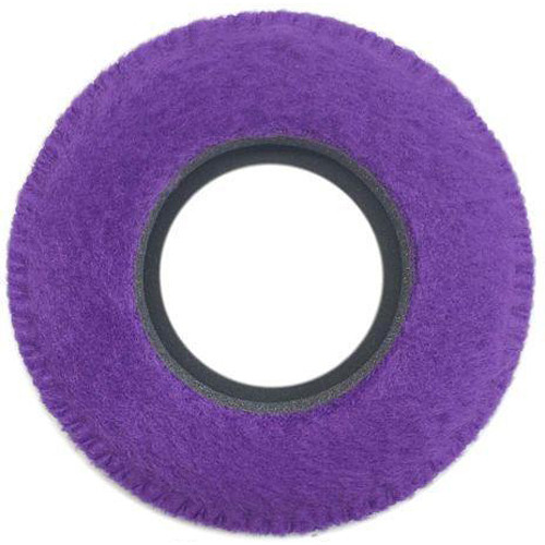 Bluestar Viewfinder Eyecushion - Round, Large, Fleece (Purple)