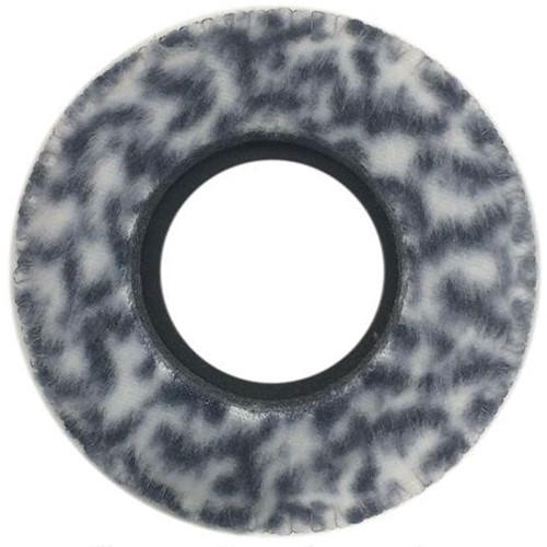Bluestar Viewfinder Eyecushion - Round, Extra Large, Fleece (Snow Leopard)