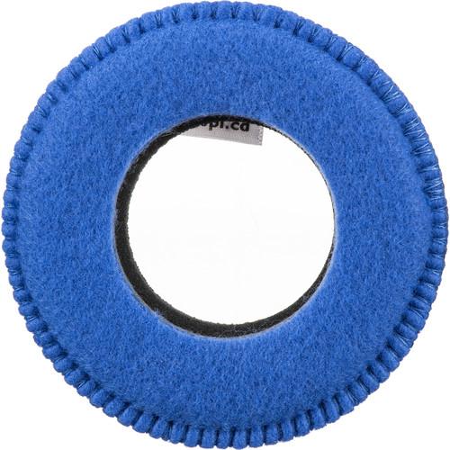 Bluestar Viewfinder Eyecushion - Round, Extra Large, Fleece (Blue)