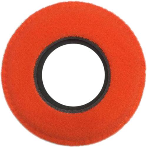 Bluestar Viewfinder Eyecushion - Round, Extra Large, Fleece (Orange)
