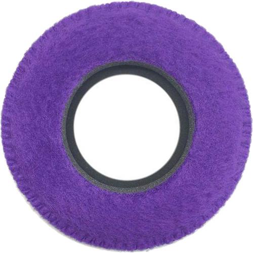 Bluestar Viewfinder Eyecushion - Round, Extra Large, Fleece (Purple)