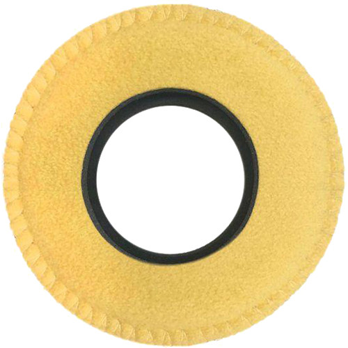 Bluestar Viewfinder Eyecushion - Round, Extra Large, Ultrasuede (Natural)