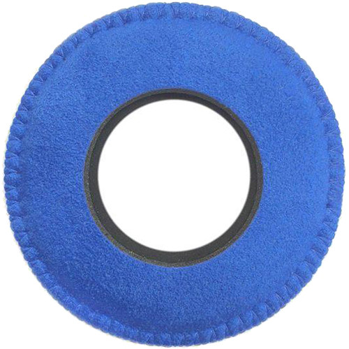 Bluestar Viewfinder Eyecushion - Round, Extra Large, Ultrasuede (Blue)