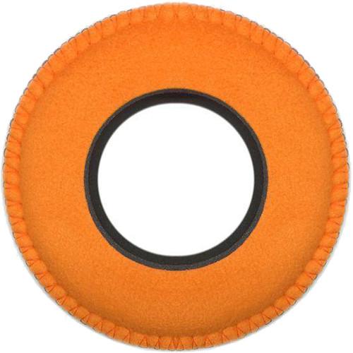 Bluestar Viewfinder Eyecushion - Round, Extra Large, Ultrasuede (Orange)