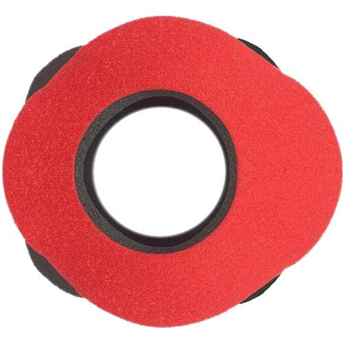 Bluestar Viewfinder Eyecushion - Blackmagic Special Use, Ultrasuede (Red)